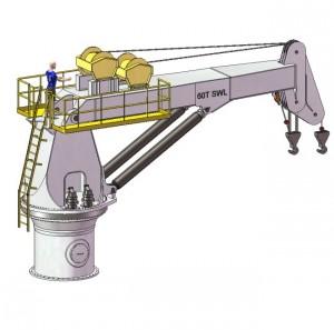 60T Pedestal Crane